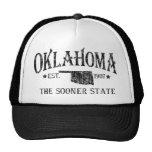 Oklahoma - The Sooner State Cap