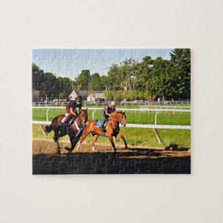 Oklahoma Training Track Jigsaw Puzzle