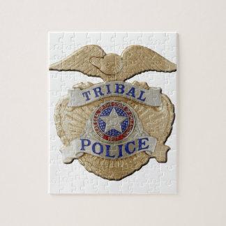 Oklahoma Tribal Police Jigsaw Puzzle
