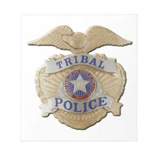 Oklahoma Tribal Police Notepad