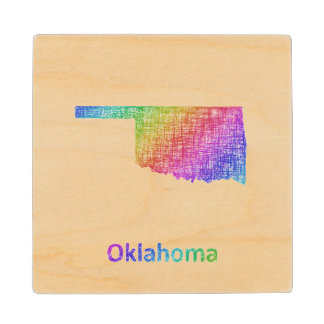 Oklahoma Wood Coaster