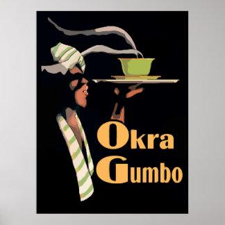 Okra Gumbo Poster