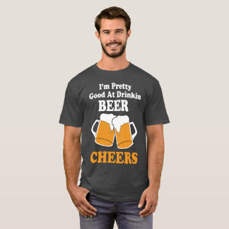 Oktober Fest Pretty Good At Drinking Beer T Shirt