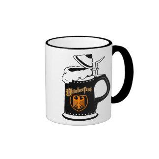 Oktoberest Beer Stein Ringer Mug