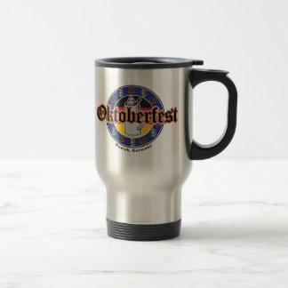 Oktoberfest Beer and Pretzels Travel Mug