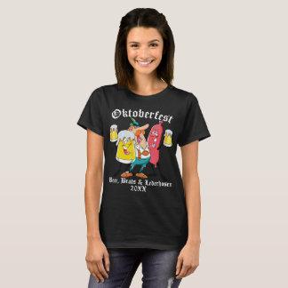Oktoberfest Beer Brats & Lederhosen T-Shirt