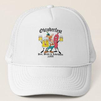 Oktoberfest Beer Brats & Lederhosen Trucker Hat