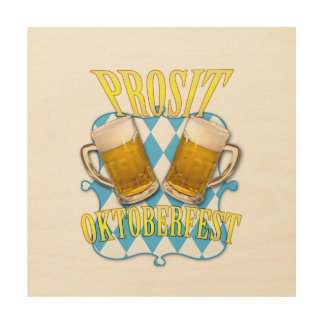 Oktoberfest beer festival in Munich Wood Print