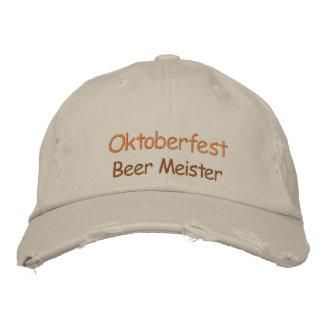 Oktoberfest Beer Meister Hat