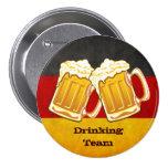 Oktoberfest Beer Party - Germany Drinking Team 7.5 Cm Round Badge