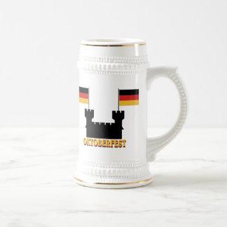 Oktoberfest beer stein coffee mugs