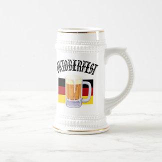 Oktoberfest beer stein coffee mug