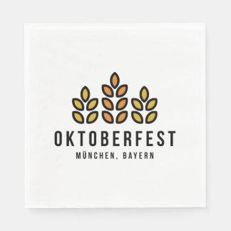 Oktoberfest Beerfest Festival Disposable Serviette