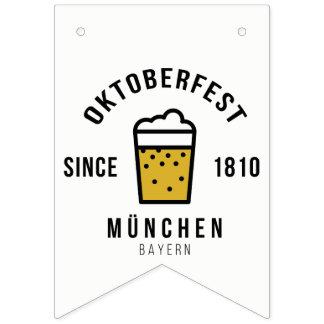 Oktoberfest Beerfest Festival Since 1810 Bunting