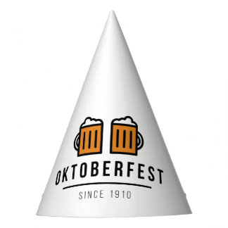 Oktoberfest Beerfest Festival Since 1910 Party Hat