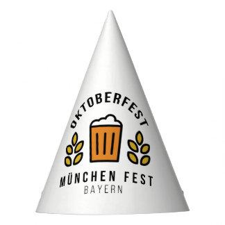Oktoberfest Beerfest Munchen Fest Bayern Party Hat