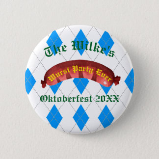 Oktoberfest Buttons - Wurst Party Ever