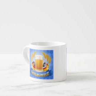 Oktoberfest Celebration Background With Espresso Mug