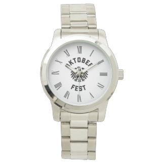 Oktoberfest Celebratory Roman Numeral Wrist Watches