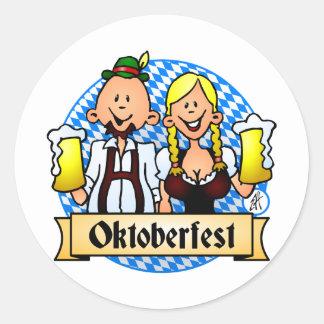Oktoberfest Classic Round Sticker