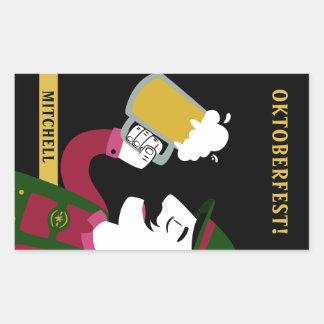 Oktoberfest custom name & text stickers