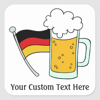 Oktoberfest custom text stickers