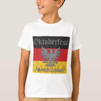 Oktoberfest Distressed Flag T-Shirt