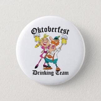 Oktoberfest Drinking Team 6 Cm Round Badge