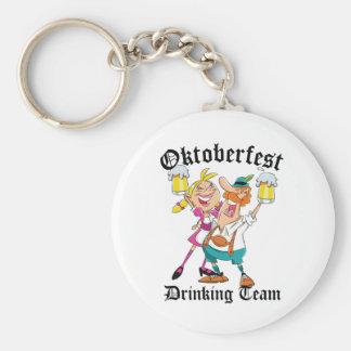 Oktoberfest Drinking Team Key Ring