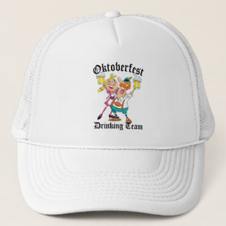 Oktoberfest Drinking Team Trucker Hat