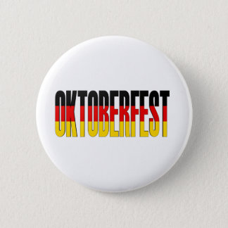 Oktoberfest German Flag 6 Cm Round Badge