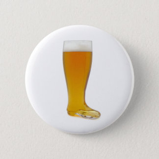oktoberfest-glass-beer-boot 6 cm round badge