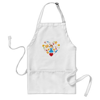 Oktoberfest heart standard apron