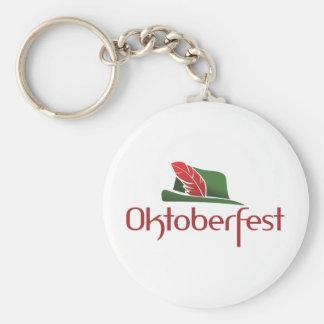 Oktoberfest Hut Keychains