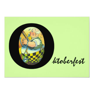OKTOBERFEST KEG TAPPING BEER PARTY INVITATIONS