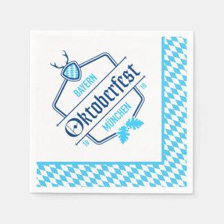 Oktoberfest Munich, Bavaria Napkins Disposable Serviettes