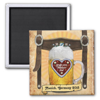 Oktoberfest Munich (customizable) Magnet
