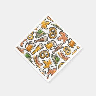 Oktoberfest Napkin Disposable Serviette