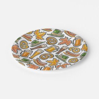Oktoberfest Party Goods Paper Plates