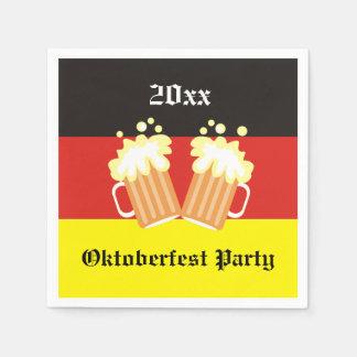 Oktoberfest Party Napkins Paper Napkins