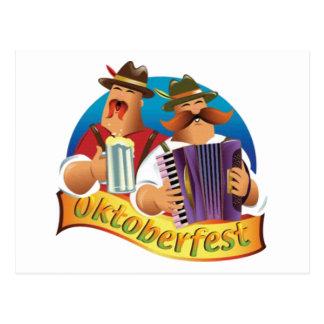 Oktoberfest Post Card