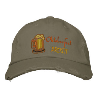 Oktoberfest  Prost Embroidered Hat