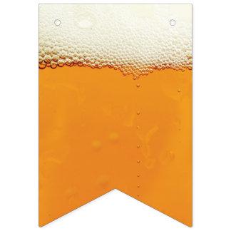 Oktoberfest. Real Beer Suds. Bunting