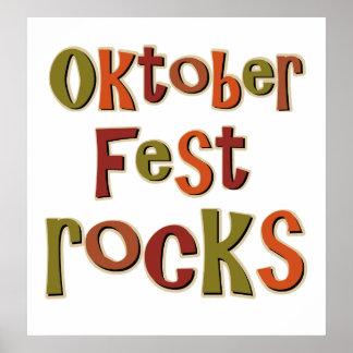 Oktoberfest Rocks Poster