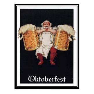 Oktoberfest Vintage Postcard