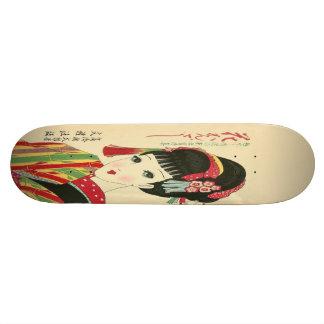 Okura Anime Japanese Beauty Skateboard