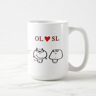 """OL heart SL"" Mug"