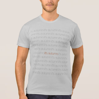 Ol Lifestyle Autumn Tight Wordsearch Tee