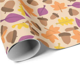 OL Lifestyls Autumn Wrapping Paper. Wrapping Paper