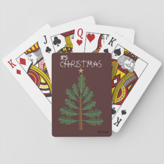 OL Xmas Tree Playing Cards